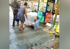 Amateurvideos aus Barcelona: Die Momente nach dem Terroranschlag - SPIEGEL ONLINE - Video