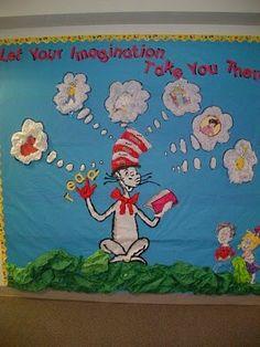 dr+seuss+classroom+decorations | Dr. Seuss Bulletin Board & Classroom Decor Collection ... | Classroom