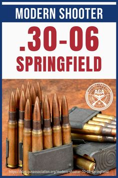 Get the hunting job done with the Springfield. This ammo can bring down all kinds of big game animals with its impressive ballistics. Long Range Hunting, Hunting Tips, Hunting Rifles, Deer Hunting, Tactical Rifles, Firearms, Deer Processing, Ammo Storage, M1 Garand