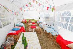 Alice by Jenny Packham for a Handmade Homespun Wedding