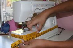 izzy inspired: sewing machine cover tutorial
