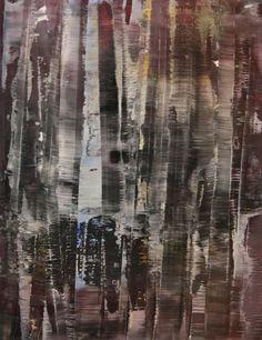 """Koen Lybaert; Oil 2013 Painting """"abstract N° 741"""""""