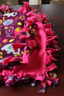 Mission Dolly: No Sew Blanket Tutorial