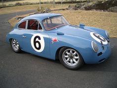 #blue Porsche 356