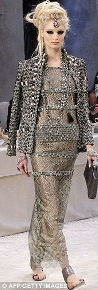 CHANEL: The pre-fall 2012 collection.  I need to start a board called my dream style...