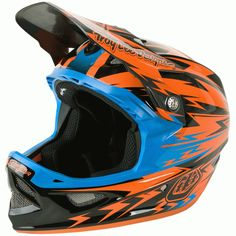 Troy Lee Designs 2014 D3 Carbon Thunder Helmet