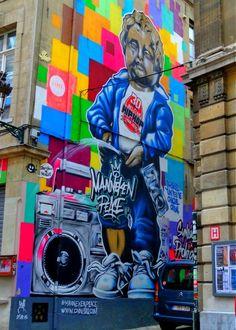 Check out the best of Brussels Street Art - Manneken Peace