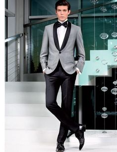 Costume Homme Terno Masculino Tuxedos Slim Fit Men Suits Latest Design Wedding Suits for Men 3 Pieces (Jacket+Pant+Tie) Wedding Dress Suit, Wedding Coat, Dress Suits, Wedding Men, Wedding Suits, 2017 Wedding, Wedding Venues, Trendy Wedding, Grey Tuxedo Wedding