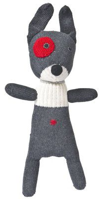 New small dog - Crochet cuddly toy Grey | Crochet cuddly toy Anne-Claire Petit