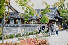 What to eat at Jeonju Hanok Village/Hanok Maeul. Best traditional Hansik restaurants and bakeries. (UNESCO city of Gastronomy Jeonju, South Korea, Seoul, Asia, Traditional, Mansions, House Styles, City, Beautiful