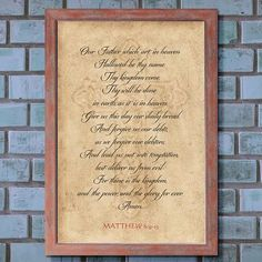 The Lords Prayer Prayer For Fathers, Thy Will Be Done, Prayer Wall, Daily Goals, New King James Version, Matthew 6, Japan Design, Feeling Lost, Daily Prayer