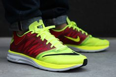 Image of Nike LunarSpeed+ Volt/Black-Pimento-White