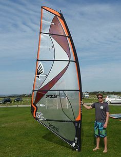 Ezzy #tiger 5.8m #windsurfing sail - ex demo,  View more on the LINK: 	http://www.zeppy.io/product/gb/2/351725219239/