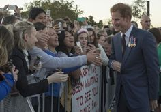 Prince Harry Visits New Zealand - Day 1