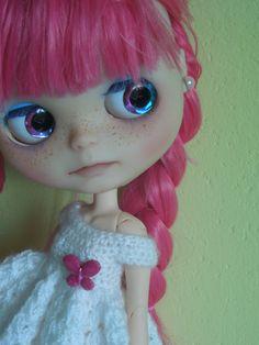 OOAK Blythe dolls Mia and Kristy by nhola