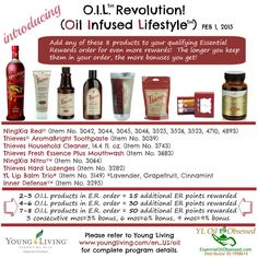 Introducing O.I.L. (Oil Infused Lifestyle) from Young Living | EssentialOilObsessed.com