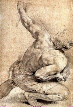 Peter Paul Rubens male figure drawing heightened with white chalk. Peter Paul Rubens, Life Drawing, Drawing Sketches, Art Drawings, Figure Drawings, Drawing Hands, Sketching, Rembrandt, Figure Painting