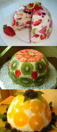 Quick Healthy Breakfast Ideas & Recipe for Busy Mornings Fruits Decoration, Tupperware Recipes, Good Food, Yummy Food, Russian Recipes, Creative Cakes, No Bake Cake, Food Art, Kids Meals