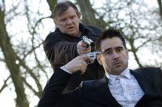 """Brendan Gleeson y Colin Farrell en """"Escondidos en Brujas"""" de Martin McDonagh (2008)"""