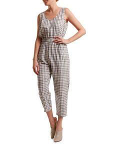 H Fredriksson Mina Organic Cotton Jumpsuit Women's Grey Small