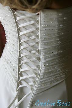 ©Creative Focus Photography #wedding #bride #details #gown