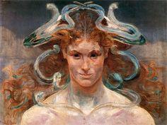 Medusa, Jacek Malczewski.