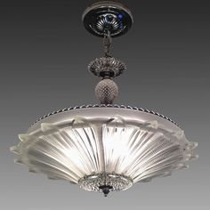 US $295.00 Used in Collectibles, Lamps, Lighting, Ceiling Fixtures
