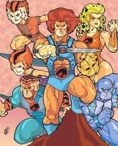 Famous Cartoons, Retro Cartoons, Classic Cartoons, Cool Cartoons, Gi Joe, Thundercats 1985, Thundercats Cartoon, Desenhos Hanna Barbera, Cartoon Toys