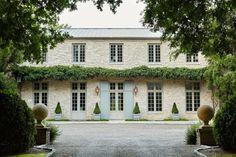 Pebble Mosaic, Terracotta Pots, Facade, Farmhouse, Exterior, Mansions, Studio, Architecture, House Styles