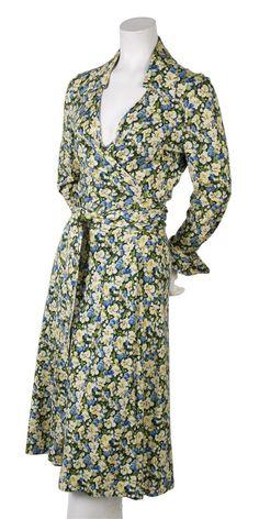 An Early Diane Von Furstenberg Wrap Dress