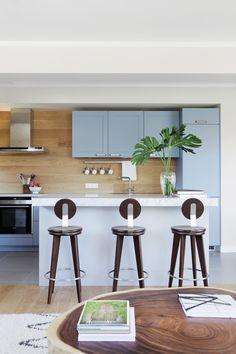 Luxury Contemporary Hacker Kitchen In 5007 Ash Blue Available From ... Haecker Lack Matt Schwarz