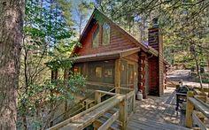 Camp Run-A-Muk, $160/night     Sliding Rock Cabins, Blue Ridge Mountains, North Georgia