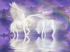 unicorns and peguses | Unicorn-and-Pegasus-Wallpaper-unicorns-6414665-1024-768.jpg