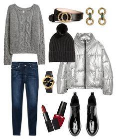 """Без названия #2"" by explorer-14266225755 on Polyvore featuring мода, H&M и Gucci"