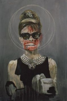 Dawn Mellor: Audrey Hepburn