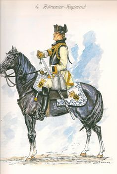 SYW- Prussia: Prussian 4th Cuirassier Regiment,1756, by Günter Dorn.
