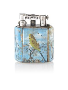 DUNHILL: An 'Aviary' lighter