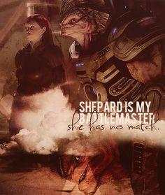 Shepard is my battlemaster, she has no match. #masseffect