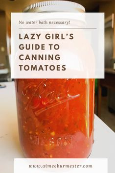 The Easiest and Simplest Way to Can Tomatoes, Simple Tomato Canning, Tomato Canning Tips, Canning Roma Tomato Recipes, Canned Tomato Recipes, Home Canning Recipes, Canned Foods, Pork Recipes, Cooker Recipes, Easy Canning, Canning Tips, Oven Canning