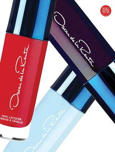 @OscarPRGirl's first nail lacquer shades ever, available now on http://www.whowhatwear.com/beauty/full-article/go-buy-now-oscar-de-la-renta-nail-polish/