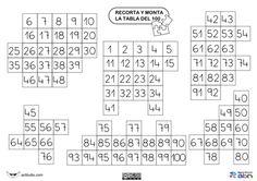 Puzzle tabla del 100-01