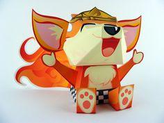 cute paper toy