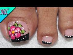 Pedicure Nails, Toe Nails, Manicure, Pedicure Designs, Nail Designs, Pedicure Ideas, Lily, Nail Art, Beauty