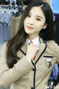 Photo album containing 28 pictures of LOONA Korean Girl Fashion, Blackpink Fashion, Sooyoung, South Korean Girls, Korean Girl Groups, Women Wearing Ties, Olivia Hye, Your Girl, Pop Group
