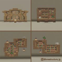 Minecraft Bauwerke, Cute Minecraft Houses, Minecraft Construction, Amazing Minecraft, Minecraft Blueprints, Minecraft Crafts, Minecraft House Tutorials, Minecraft House Designs, Minecraft Tutorial