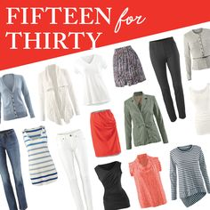 - Get 30 spring outfits with 15 key pieces! See the entire collection at www.katierodgers.cabionline.com