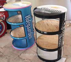 "Search result for ""oil drum chair"". Garage Furniture, Barrel Furniture, Metal Furniture, Diy Furniture, Furniture Makeover, Industrial Interior Design, Vintage Industrial Furniture, Industrial Interiors, Kitchen Industrial"
