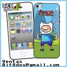 Case Finn de Hora de aventura en  #pixelart Te elaboramos cualquier diseño de videojuegos. Más información en bit8dos@gmail.com