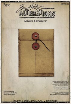 Tim Holtz / Sizzix - Pocket Envelope - CHA Winter 2012