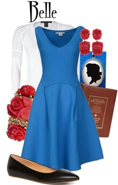 Cute Belle outfit.